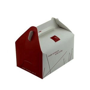 disposable paper lunch box-1